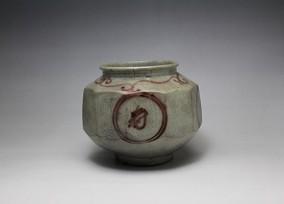 李朝辰砂面取壺30nk-148
