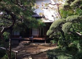 畠山記念館の茶室